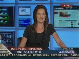 MSNBC's Contessa Brewer