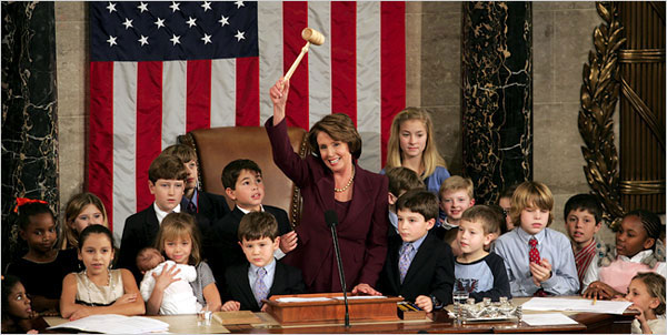 Pelosi:  Happy New Year, Peasants!  Oh, and feel free to die in a fire.