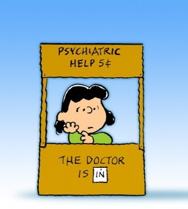 Lucy's Psychiatry Stand